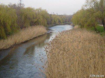 Река Московка протекает через Запорожье