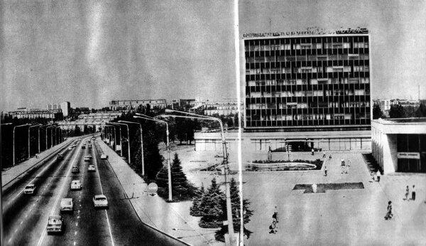 Центральная магистраль Запорожья - проспект Ленина