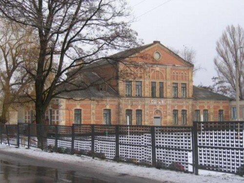 Женская школа. Построенная немецкими колонистами менонитами.