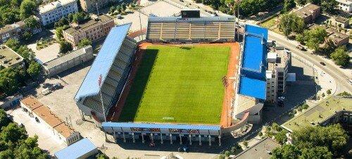Стадион «Славутич-арена» с высоты