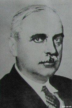 Главный инженер Днепростроя, известный гидростроитель Б. Е. Веденеев