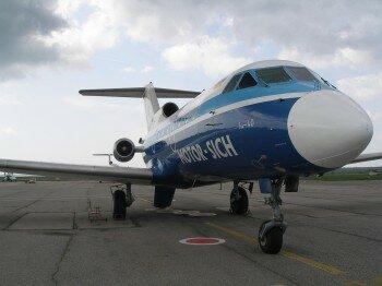Як-40 UR 87215. Автор: Bogachev.