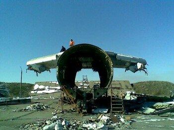 Остатки от IL-76. Автор: Devilinkin.