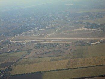 Вид на аэропорт с высоты. Автор: VLADI51.