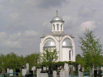 Часовня Святого Георгия-Победоносца на территории Кочубеевского кладбища.