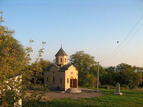 Армянская церковь в Запорожье.