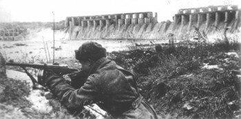 Бой у плотины ДнепроГЭСа 1943 год. Освобождение Запорожья.