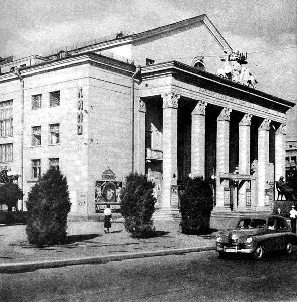 Концертный зал имени Глинки и кинотеатр Родина. 1961 год.