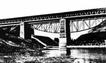 Мост через Малую Московку 1911 год.