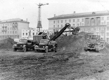 1962 год. Площадь Маяковского.