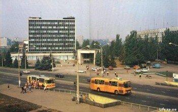 Площадь Пушкина 80х годов.