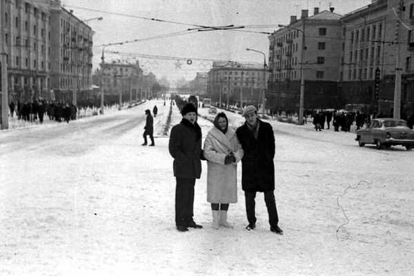 70-е годы. Проспект им. Ленина.