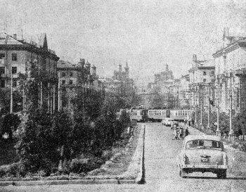 Район станции Узловой.