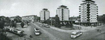 Транспортная площадь 1974-1975 года.
