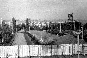 Закладка памятника Ленину.