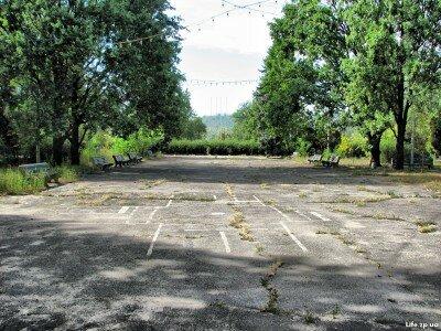 Площадка для проведения мероприятий в лагере «Чайка».