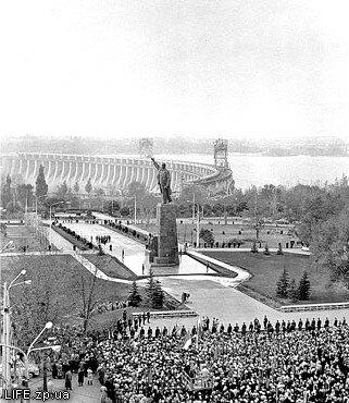 5 ноября 1964 года. Открытие памятника Ленину.