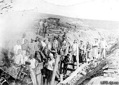 Пуск гидростанции в 1932 году.