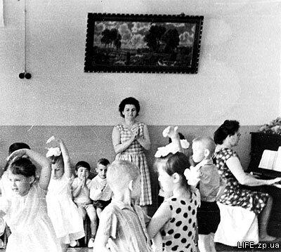 1970 год. Утренник в детском саду №32.