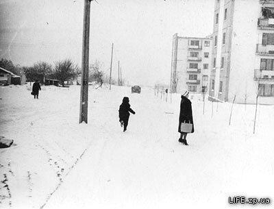 Бульвар Центральный в январе 1963 года