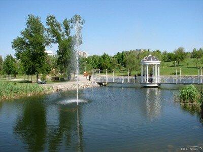 Фонтан в Вознесеновском парке