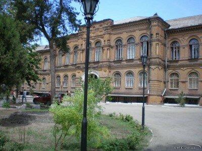 Корпус Биологического факультета во время второй мировой было ставкой Гитлера на юге Украины