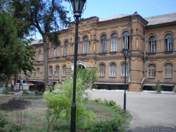 Корпус Биологического факультета во время второй мировой было ставке Гитлера на юге Украины