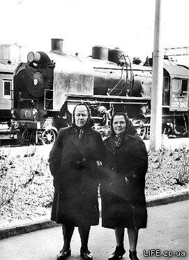 На вокзале Запорожье-1, 1967 год