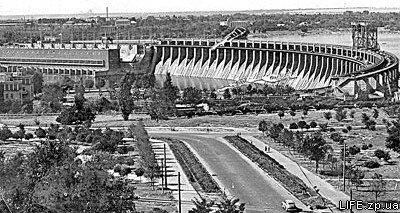 1963 год. Плотина Днепрогэса.