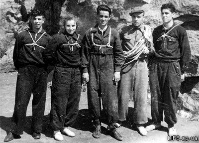 Студенты Запорожского института сельскохозяйственного машиностроения, 1954 год