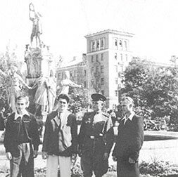 1954 год, учащиеся металлургического техникума.