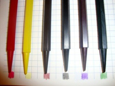 Советские восковые карандаши