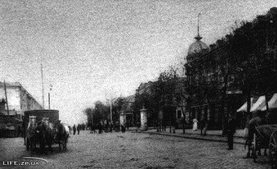Уголок Александровска, фото начала 20-го века
