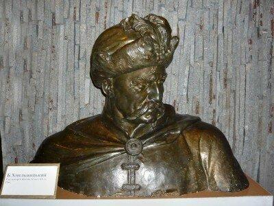 Скульптор И. Якунин. II половина XX столетия. Гипс.