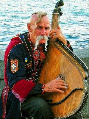 Бандурист (Запорожский казак)