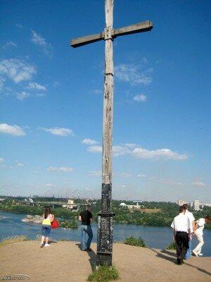 Крест на кургане, 2008 год.
