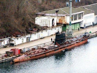 Подводная лодка «Запорожье» до ремонта.