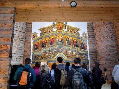 Иконостас церкви Запорожской Сечи