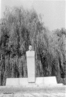 Памятник Винтеру на бульваре Винтера, конец 70-х