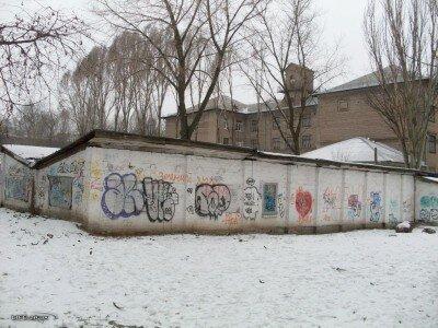 Хозпостройка во дворе лицея при ЗГУ по улице Мира