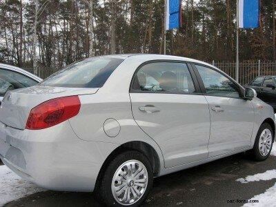 Ширина Forza в кузове «седан» - 1686 миллиметра
