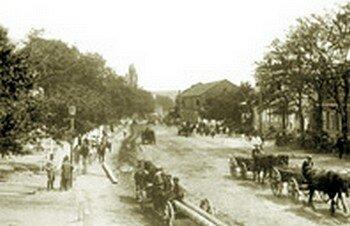 Город Александровск, улицы Кичкаса фото 1911 года