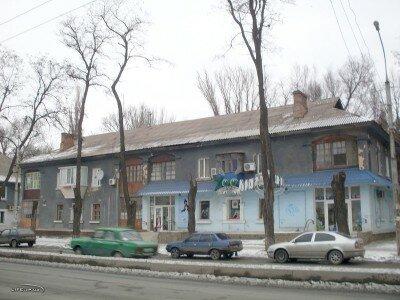 Дома на улице Победы