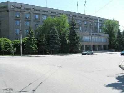 Областной комитет профсоюзов на площади Профсоюзов