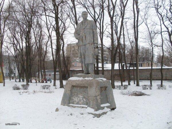 Памятник Горькому, Павло-Кичкас