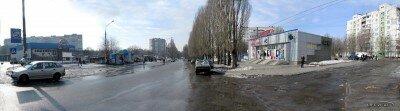 Панорама улицы Косыгина