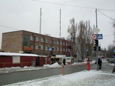 Улица Рекордная в районе Крытого рынка