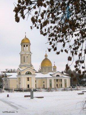 Собор Святого Апостола Андрея Первозванного зимой