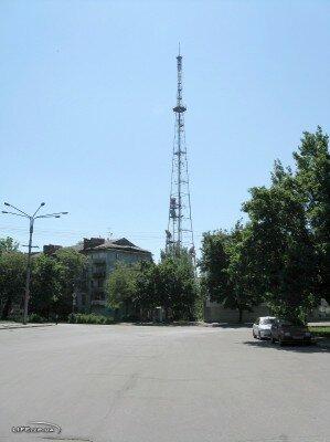 Башня ЗОРТПЦ (Запорожский областной радио-телевизийннный передающий центр)