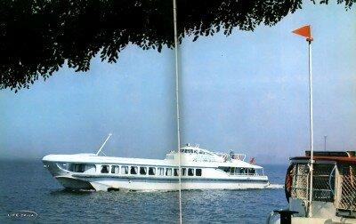 Скоростной теплоход «Орион» 1978 год
